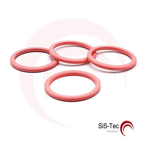 Cerchi distanziatori in alluminio 72, 2 x 60, 1 mm (4 pezzi) SiS-Tec