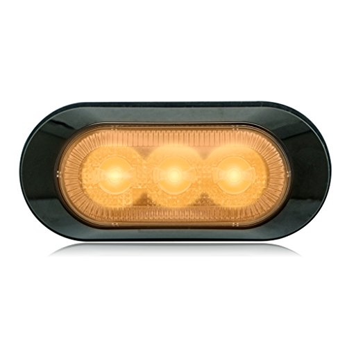 Maxxima M20383YCL Amber 3 LED Ultra Thin Low Profile Warning Light ()