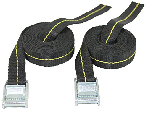 Kayak Lashing Straps - Stand Up Paddle Board - Surfboard - Tie Down Straps - 2 Pack - Made in USA (8)