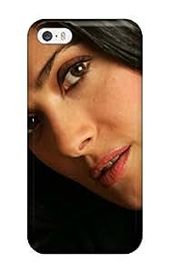 ZippyDoritEduard Iphone 5/5s Well-designed Hard Case Cover Salma Serious Latin Brunette Actress Holywood People Women Protector