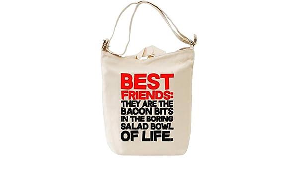 Best Friend They Are Slogan Bolsa de mano Día Canvas Day Bag| 100 ...