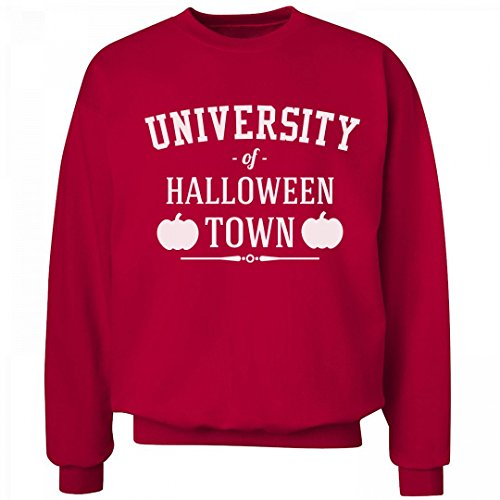 University of Halloween Town Sweater: Unisex Hanes Ultimate Crewneck (Halloweentown University)