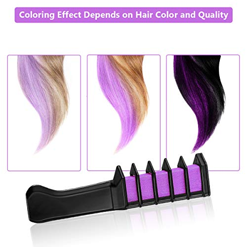 New Hair Chalk Comb Temporary Bright Hair Color Dye for