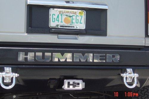 hummer h2 chrome accessories kit - 5