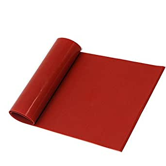 Lms Red Temperature Resistant Silicone Rubber Sheet