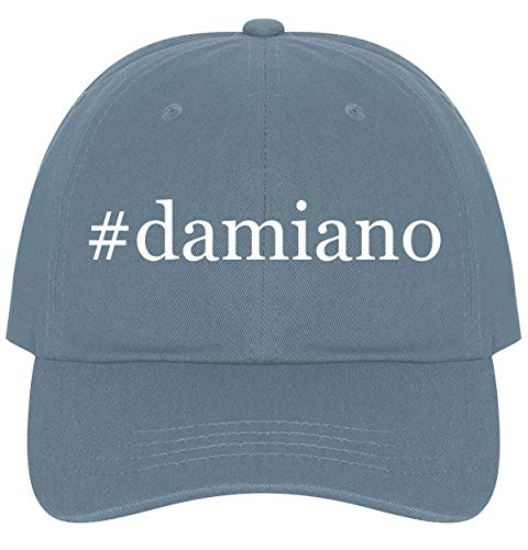 (The Town Butler #Damiano - A Nice Comfortable Adjustable Hashtag Dad Hat Cap, Light Blue)