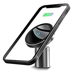 SXUWWIO 2021 New 360 Degree Rotating Magnet car Wireless Charging Bracket iPhone 12 Series Special Edition, Compatible with The iPhone 12/iPhone 12pro/iPhone 12pro max/iPhone 12mini