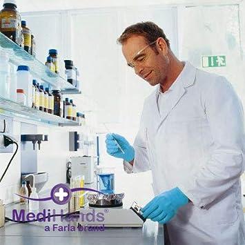 MediHands Nitrile Examination Gloves Pack of 100 Powder /& Latex Free Medium