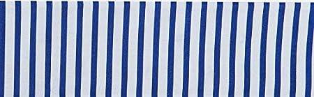 Vizaro OekoTex Algod/ón Puro Hecho UE Azul S/ábana bajera 60x120cm Fald/ón para adornar Cuna