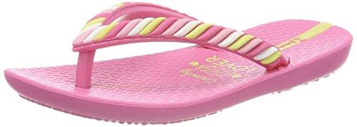 Ipanema Mädchen Summer Love VI Kids Zehentrenner Mehrfarbig (Pink)