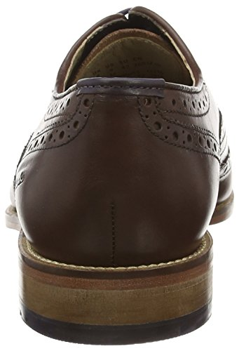 Clarks Penton Limit - Zapato brogue de cuero hombre Marrón (Chestnut Leather)