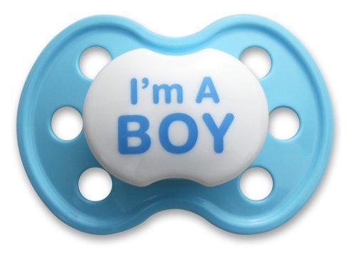 BooginHead Pacifier Boy Light Blue