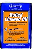 Crown Packaging Crown BL. M. 64 Qt Boiled Linseed Oil - 6ct. Case