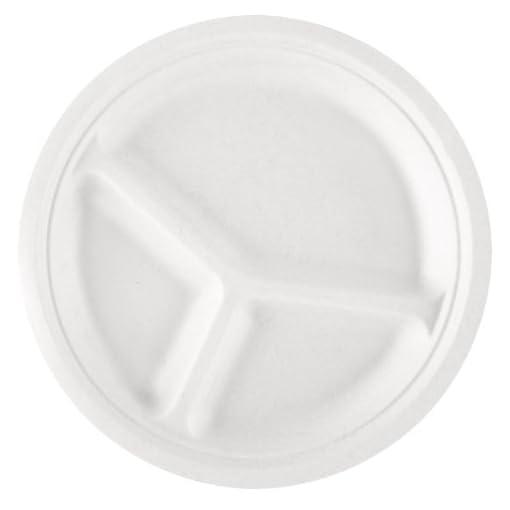 BIONIC-PLATOS-3-COMPARTIMENTOS-Pack-de-700-Unidades-26×26-cm-Color-White