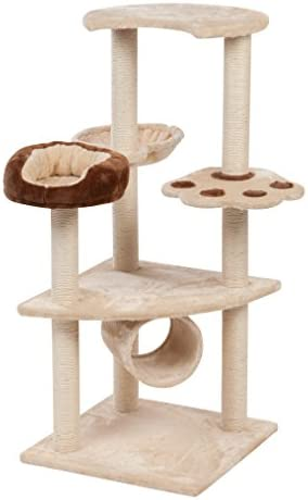 IRIS Three Tier Plush Cat Tree