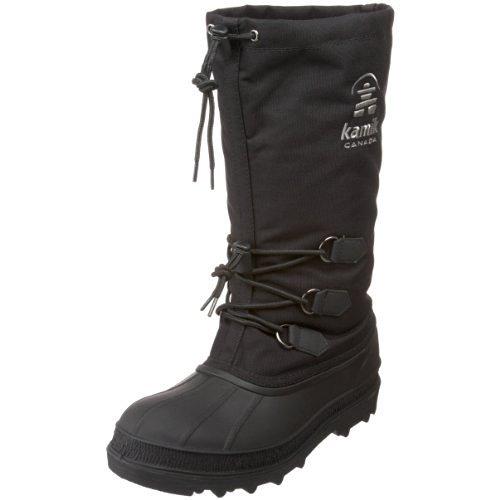 Kamik Men's Canuck Cold Weather Boot,Black,10 M US
