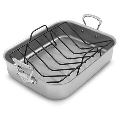 Mauviel M'collection de Cuisine Roasting Pan and Rack 3717.41