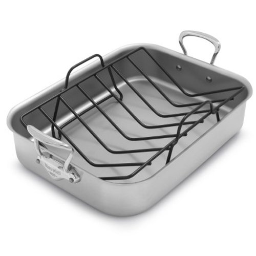 Mauviel M'collection de Cuisine Roasting Pan and Rack 3717.41 by Sur La Table