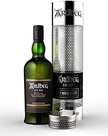 Ardbeg AN OA Islay Single Malt Scotch Whisky 46,6% - 700 ml in Giftbox with BBQ Smoker