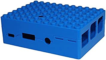Yellow Multicomp Pi-Blox Case for Raspberry Pi 3 /& Raspberry Pi 2 Model B /& Pi Camera