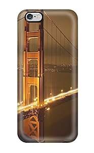 For Iphone 6 Plus Premium Tpu Case Cover Golden Gate Bridge Sf San Francisco Nature Other Protective Case