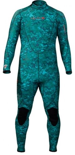 Henderson Man 3mm Thermoprene Jumpsuit (Back Zip) Scuba Diving Wetsuit-Medium (5 Mm Thermoprene Jumpsuit)