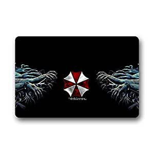"Too Amazing Custom Resident Evil Pattern Machine Washable Home Doormat 23.6""x15.7"" about 60cm X 40cm"