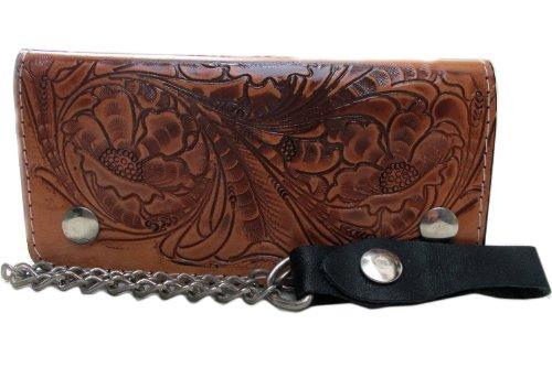 biker-trucker-clutch-wallet-with-safety-chain-genuine-cow-leather