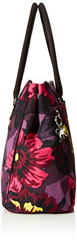 Halia Top Bag Women's New Ref353 Kipling Bloom Multicolor Handle Rose twRFqnE
