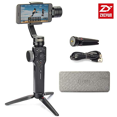 Zhiyun Smooth 4 Gimbal 3-Axis Handheld Stabilizer, Focus Pul