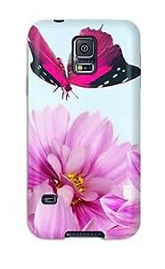 New Bareetttt Super Strong Flower S pc Case Cover For Galaxy S5