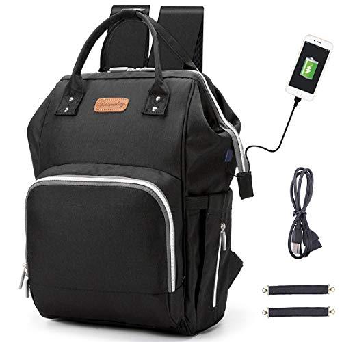 Diaper Bag Backpack hopopower