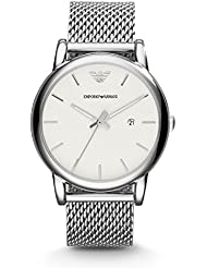 Armani Classic Mens Watch - Silver