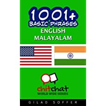 1001+ Basic Phrases English - Malayalam