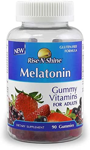 Melatonin Adult Gummies 5mg Melatonin per Serving Sleeping Pills 90 Count