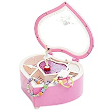Jewelry Box Girls Toys Music Box - RFAIKA Musical Jewelry Box 4/5/6/7 Year Old Girl Gifts, Ballerina Doll Jewelry Music Box Small Jewelry Storage Box, This is a Perfect Gift For Christmas/Birthday/Valentine's Day (pink)