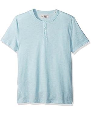 Men's Short Sleeve Bing Henley