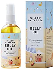 Belly Oil - 100% Certified Organic Nutrient Rich Stretch Mark Oil - by Willow by the Sea