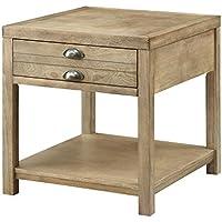 Coaster Home Furnishings Casual End Table, Light Oak
