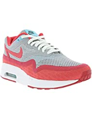 Nike Womens Air Max 1 Br WOLF GREY/POLARIZED BLUE/LEGION RED 644443-001