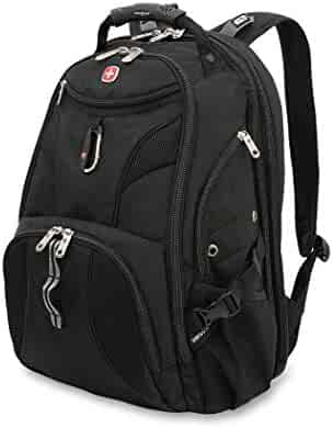 SwissGear Travel Gear 1900 Scansmart TSA Large Laptop Backpack for Travel, School & Business - Fits 17