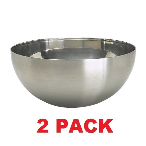 Ikea stainless steel serving bowl 2 pack 8 blanda blank for Ikea tracking usa