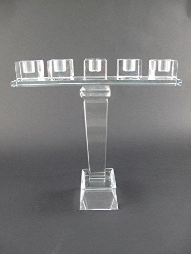 Leuchter Glas 5fl. H.30cm Artikel-Nr.: 255.010