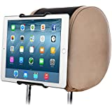 "TFY Universal Car Headrest Mount Holder, Fits ALL 7 Inch to 11 Inch Tablets - Apple iPad, iPad 4 (iPad 2 & 3), iPad Air, iPad Mini 2/3/4 - iPad Pro 9.7"" - Samsung Galaxy Tab & Note and More"