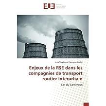 Enjeux de la RSE dans les compagnies de transport routier interurbain: Cas du Cameroun