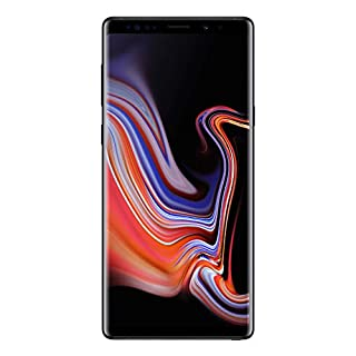 "Samsung Galaxy Note 9 (SM-N960F/DS) Dual SIM 128GB/6GB RAM, 6.4"", GSM Factory Unlocked - International Version - Midnight Black"