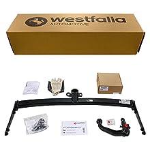 Westfalia 317132900113 Bola de Remolque para automóvil, Desmontable, con conexión electrónica