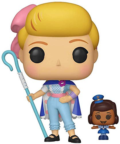Funko Pop! Vinilo Disney Toy Story 4 Bo Peep w/Officer McDimples, Multicolor, Talla unica
