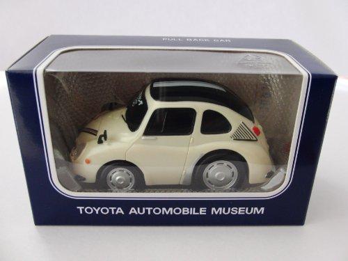 スバル 360ヤングSS(ホワイト) 「トヨタ博物館 オリジナルプルバックカー」