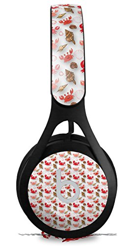 Skin Decal Wrap for Beats EP Crabs and Shells White HEADPHONES NOT INCLUDED ()